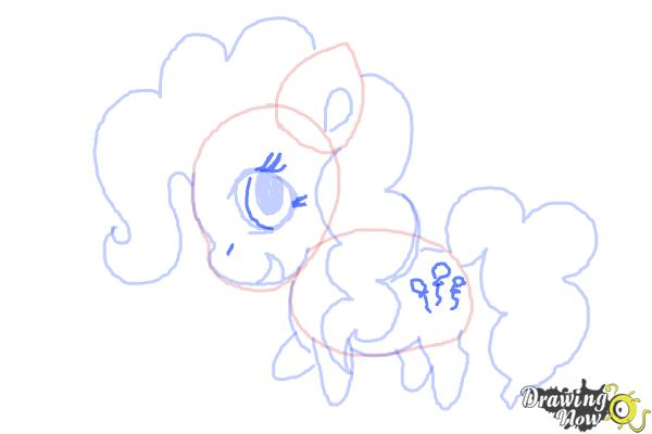 How to Draw Chibi Pinkie Pie from My Little Pony Friendship Is Magic - Step 8