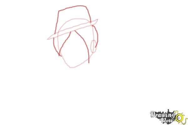 How to Draw Sparrow Hood The Son Of Robin Hood from Ever After High - Step 3