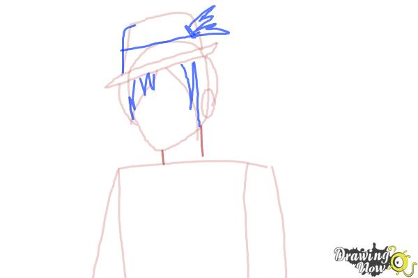 How to Draw Sparrow Hood The Son Of Robin Hood from Ever After High - Step 5