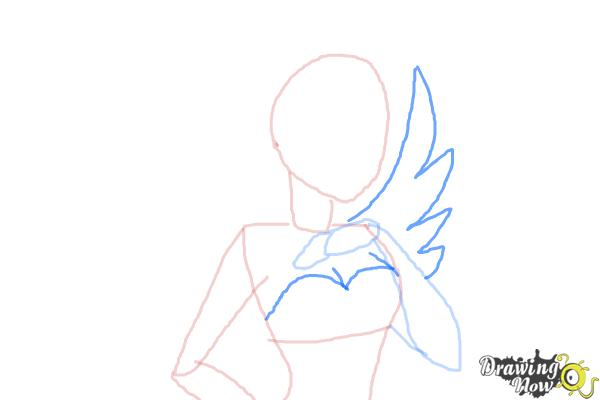 How to Draw Duchess Swan The Daughter Of Swan Princess from Ever After High - Step 5
