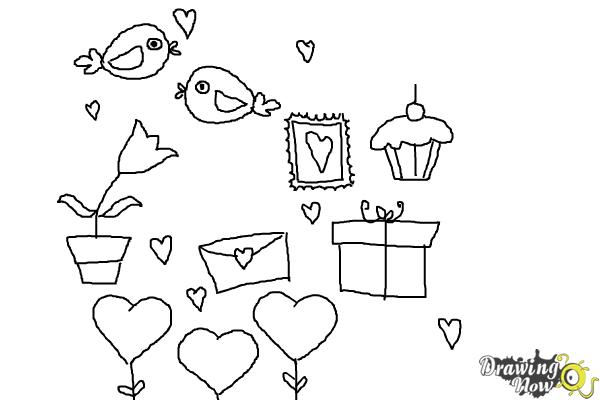 97 Valentine S Day Drawing Be Mine How To Draw The Key To Your