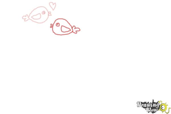 How to Draw Valentines Day Stuff - Step 3