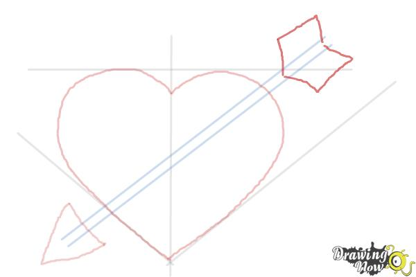 How to Draw a Heart Step by Step - Step 5