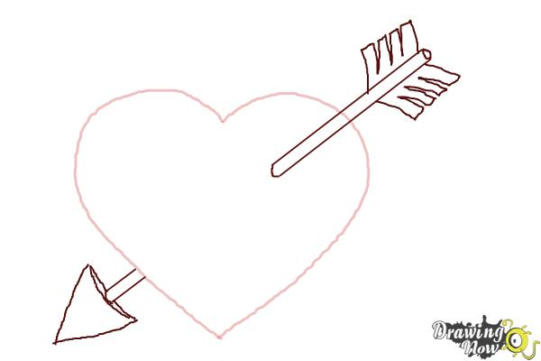 How to Draw a Heart Step by Step - Step 6