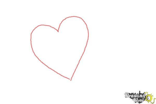 How To Draw A Fancy Heart Drawingnow