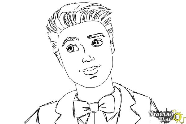 How To Draw Ken From Barbie Life In The Dreamhouse Drawingnow