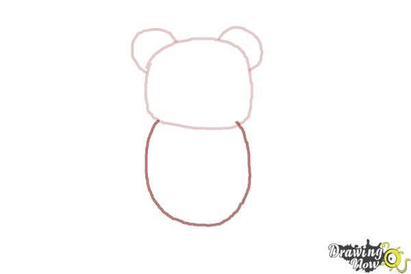 How to Draw a Gummy Bear - Step 3