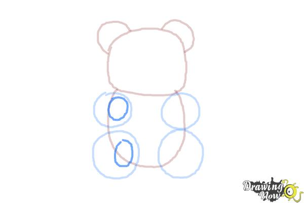 How to Draw a Gummy Bear - Step 6