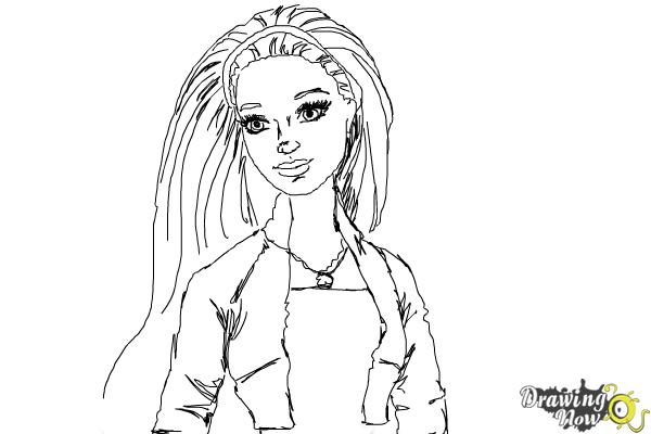 How to Draw Summer from Barbie Life In The Dreamhouse