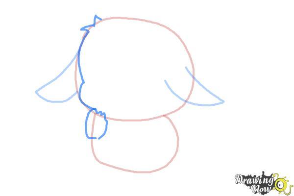 How to Draw a Chibi Pikachu - Step 4