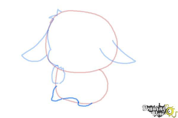 How to Draw a Chibi Pikachu - Step 5
