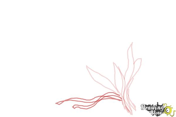 How to Draw a Bouquet Of Flowers - Step 4
