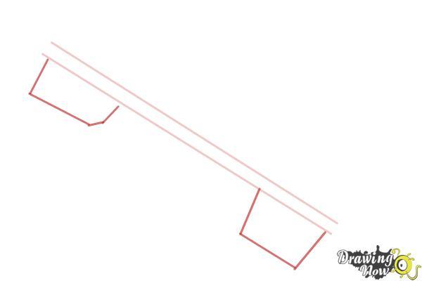 How to Draw a Keyblade - Step 2