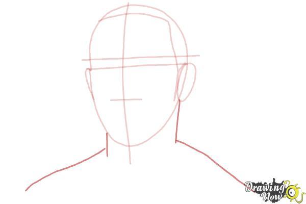 How to Draw Lewis Hamilton - Step 4