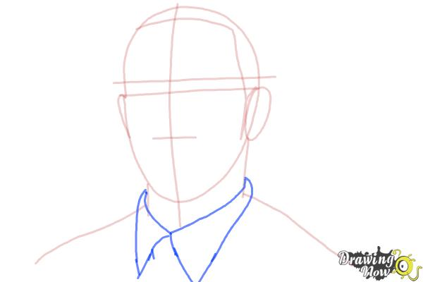 How to Draw Lewis Hamilton - Step 5