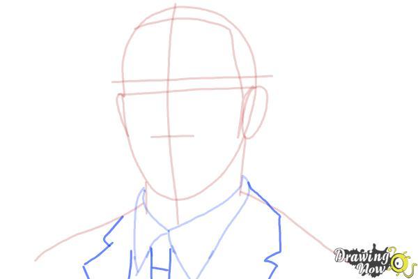 How to Draw Lewis Hamilton - Step 6