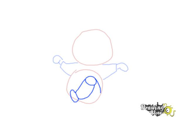 How to Draw a Kid - Step 5