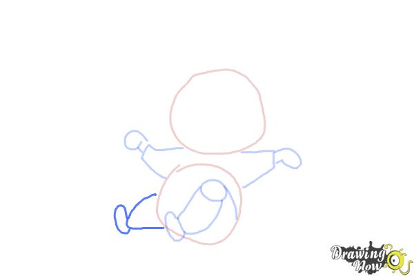 How to Draw a Kid - Step 6