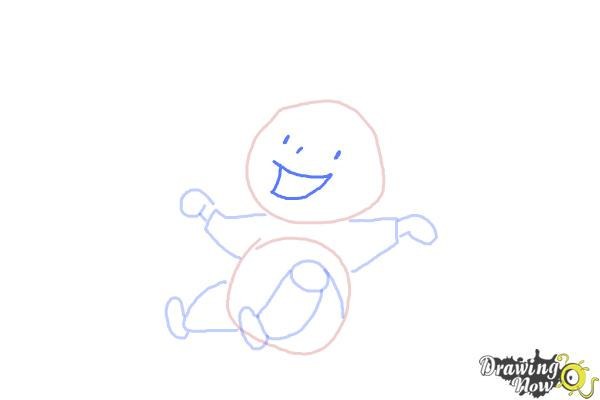 How to Draw a Kid - Step 7