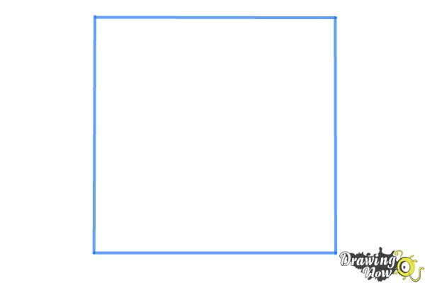 How to Draw a Labyrinth - Step 1