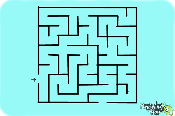 How to Draw a Labyrinth - Step 12