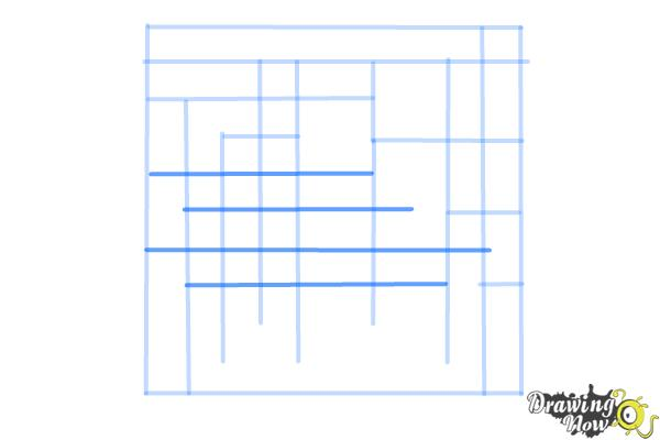 How to Draw a Labyrinth - Step 6