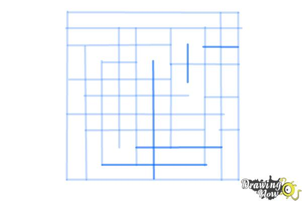 How to Draw a Labyrinth - Step 7