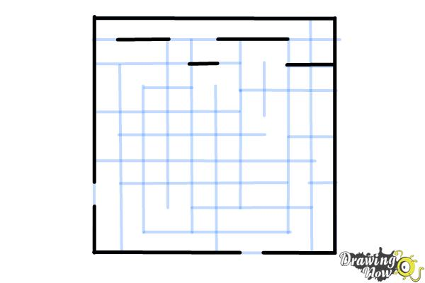 How to Draw a Labyrinth - Step 8