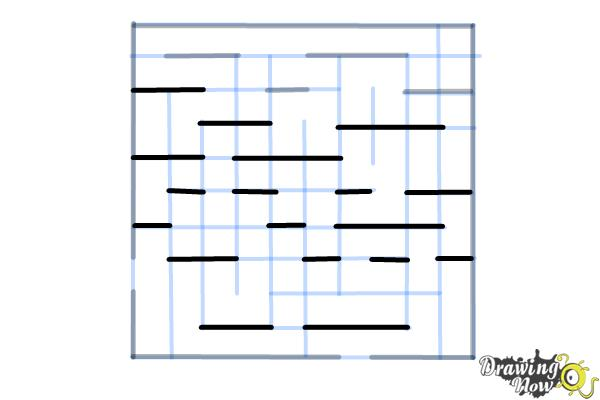 How to Draw a Labyrinth - Step 9