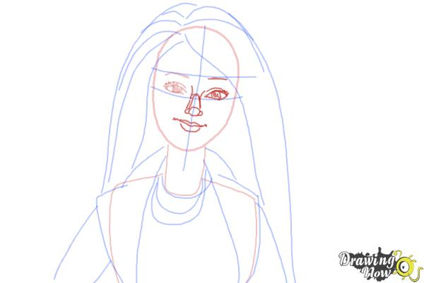 How To Draw Raquelle From Barbie Life In The Dreamhouse