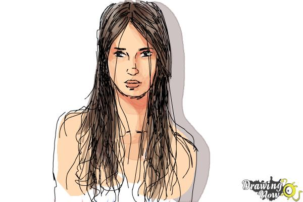 How to Draw Wet Hair - Step 10