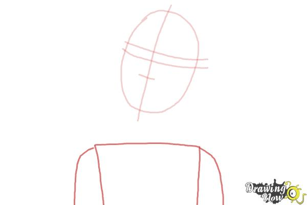 How to Draw Nikki from Barbie: Life In The Dreamhouse - Step 3