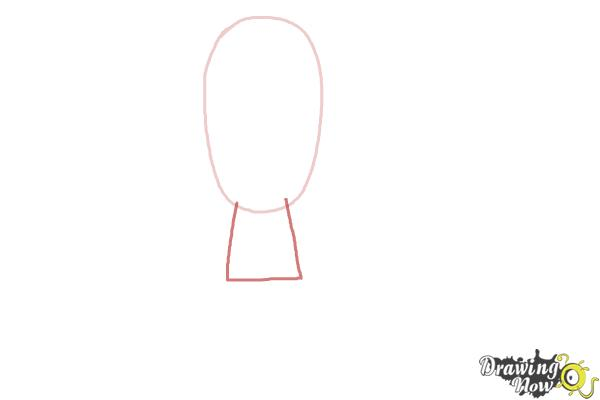 How to draw a person for kids step 2