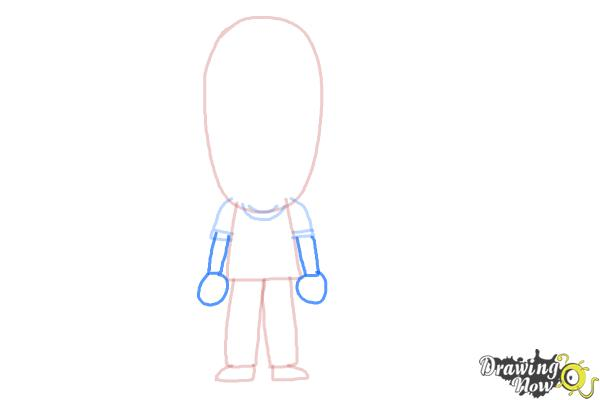 How to Draw a Person For Kids - Step 6
