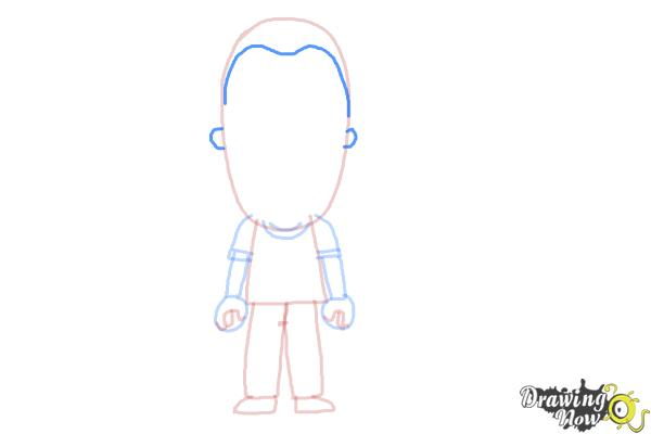 How to Draw a Person For Kids - Step 8