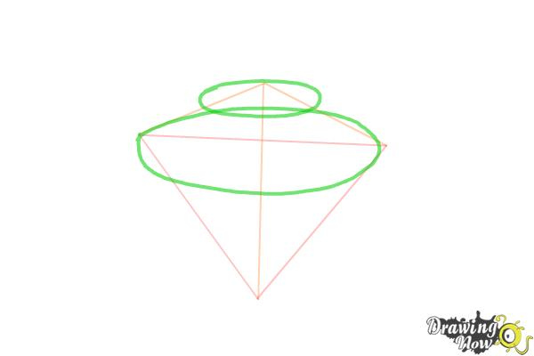 How to Draw Gems - Step 3