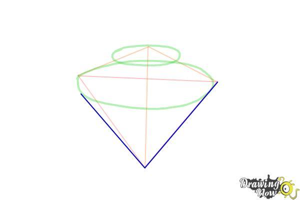 How to Draw Gems - Step 4