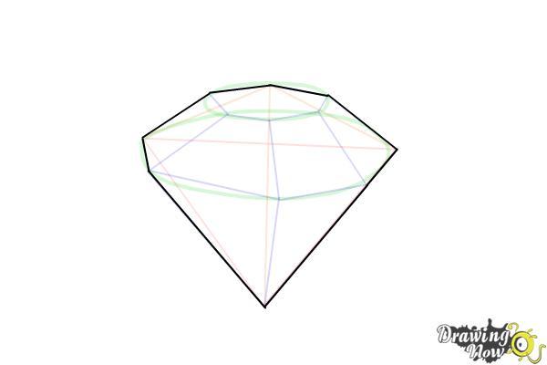 How to Draw Gems - Step 8