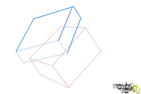 How to Draw a Rubik'S Cube - Step 5