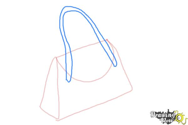 How To Draw A Purse Drawingnow