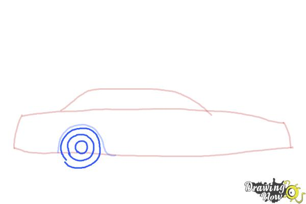 How to Draw a Police Car - Step 3