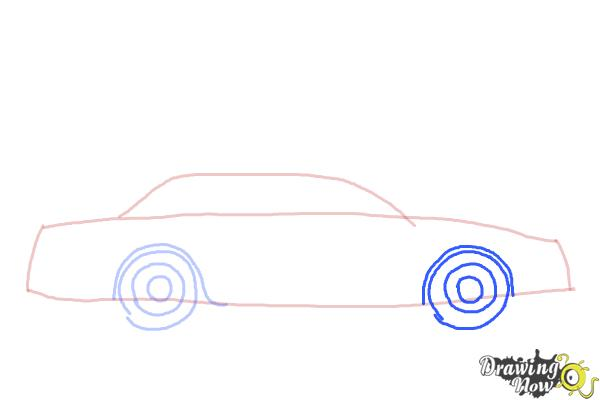 How to Draw a Police Car - Step 4