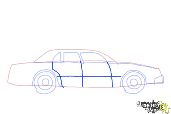 How to Draw a Police Car - Step 6