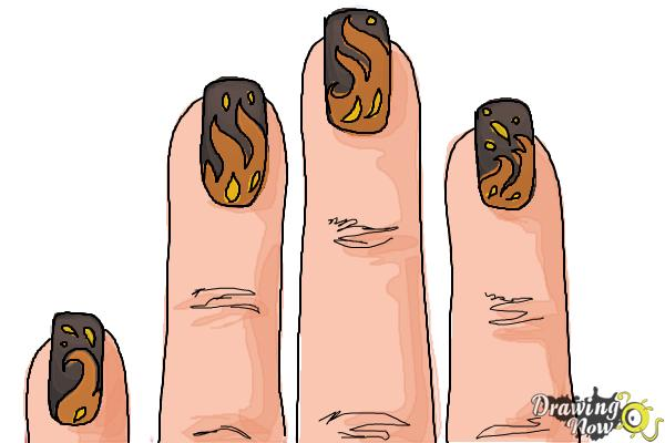 How to Draw Nail Art - Step 10