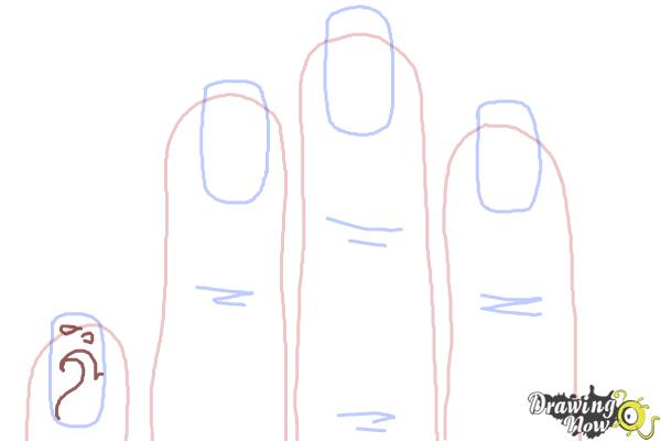 How to Draw Nail Art - Step 5