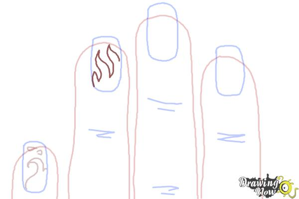 How to Draw Nail Art - Step 6