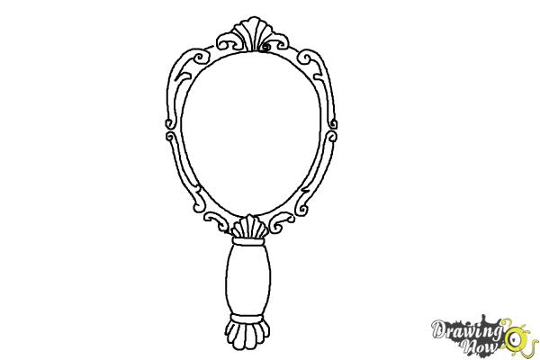 How To Draw A Mirror Drawingnow