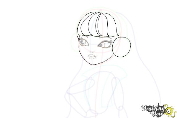 How to Draw Melody Piper The Daughter Of The Pied Piper - Step 12