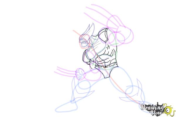 How to Draw Marvel Characters - Step 16