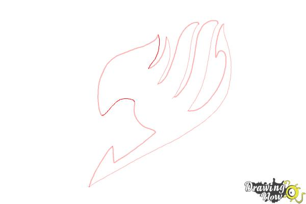 How to Draw Fairy Tail - Step 9